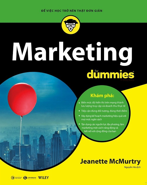 Marketing For Dummies - Tác giả: Jeanette McMurtry